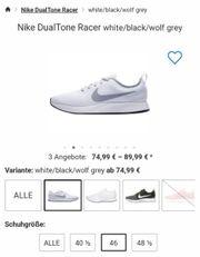 Neue Nike Dualtone Racer white