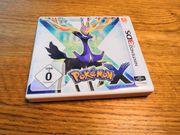 Pokémon X Spiel für den
