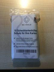 Kreditkartenhüllen transparent Made in Germany