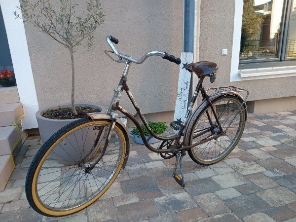 Oldtimer Fahrrad Turmberg