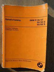 Befehlskatalog Ersatzteilkatalog BMW R26 27 -