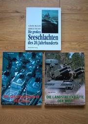 Militärfachbuchsammlung zu verkaufen