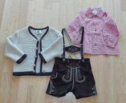 Lederhose Trachtenjacke und Hemdchen für