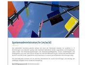 Systemadministrator m w d 1