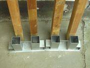 1 Paar Stapelhilfe für Brennholz