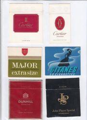 Zigarettenschachtel VORDERSEITEN 107