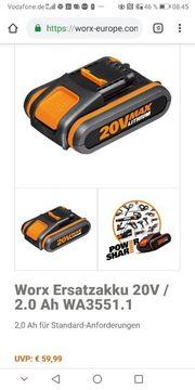 workX power share Akku Nagel