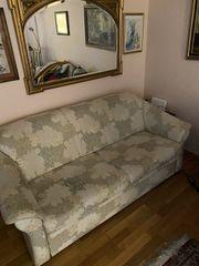 Zu verschenken Schlaf-Sofa 3-Sitzer