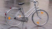 Oldtimer aus 70-er Damenrad 3