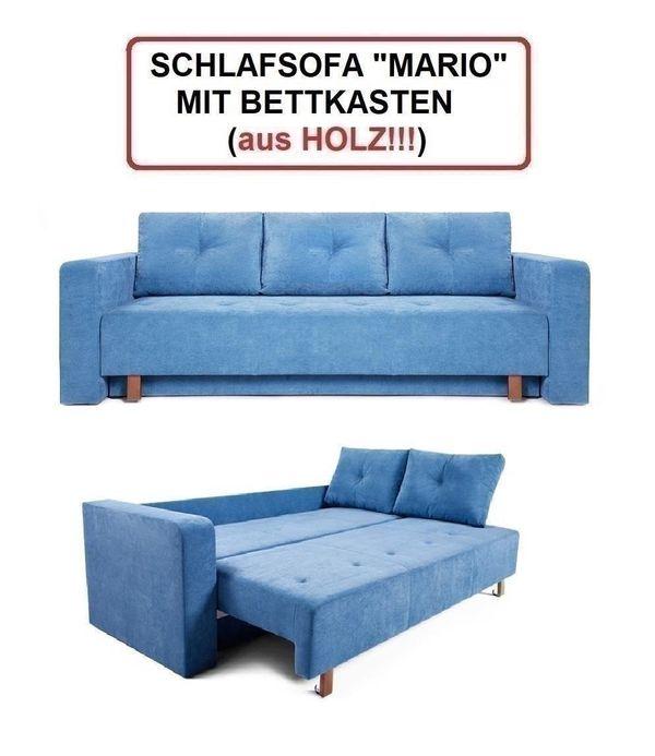 Couch Mit Schlaffunktion Bettkasten Sofa Mit Stauraum Neu In Munchen