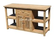 Waschtisch Unterschrank Holz Teak Teakholz