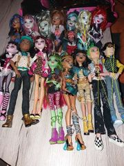 Monster High 58 Puppen Betten