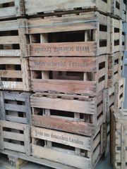 Weinkisten für Deko Möbelbau