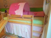 Hochbett Spielbett aus Buchenholz