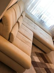 Sehr gemütliche Couch