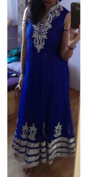 Indische Bollywood Kleidung Abendkleid Anarkali