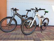 2x smart e-bikes