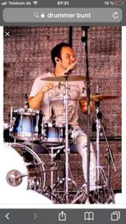 Drummer für Rock und Pop -