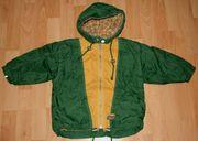 ORIGINAL - Gefütterte grüne Winter-Jacke - Größe 92