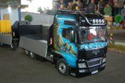 Modell-LKW MAN TGX V8 abzugeben
