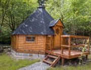 Grillhütte Holzhaus Kota Grillanlage 25qm