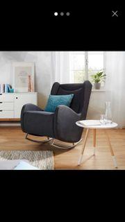 gemütlicher Schaukelstuhl Sessel