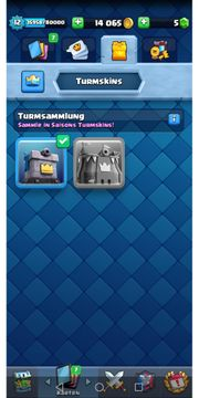 Top Clash Royal Account mit
