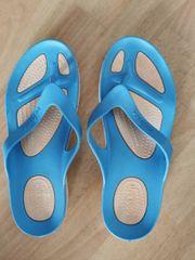 Bade Flip Flops blau Gr