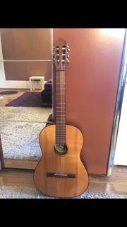 Hopf Meisterwerkstätten Gitarre mit Tasche