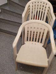 4 Gartenstühle zu verkaufen