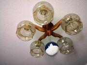 Rustikale Deckenlampe 5 x E27