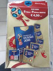 Fussball WM 2018 Sammelkarten