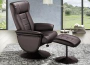 Sessel mit Hocker Ruhesessel Relaxsessel