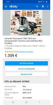Gebrauchter Thermomix TM5 in Spitzenzustand