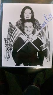 Original Autograph of Diana Rigg