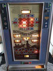 Geldspielautomaten Gaucho 80er Jahre auf