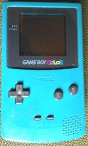 Gameboy Türkis-Color CGB 001 mit