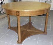 Schöner runder Tisch antik Durchmesser