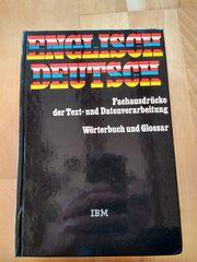 Wörterbuch Glossar Englisch-Deutsch von IBM