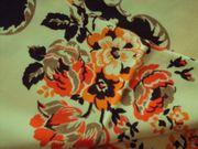 Vintage - Tischdecke in gelbgold Rechteckig
