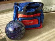 Herren Bowlingkugel mit Tasche