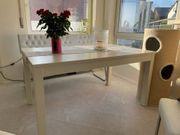 Esstisch Weiß und Sitzbank Tisch