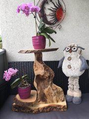 Holz Blumen Halter