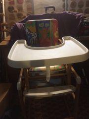 Kinderstuhl Hochstuhl mit Tisch