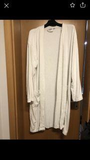 Damen-Bademantel weiß XL zu verschenken