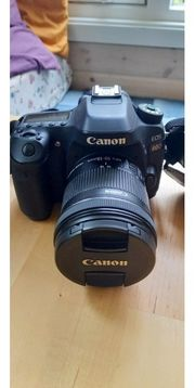 Canon EOS 80D mit optionalem