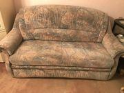 Schlafsofa und passender Sessel