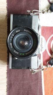 Gut erhaltene Spiegelreflexkamera Minolta XD5