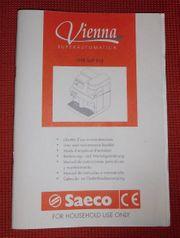 Bedienungsanleitung Saeco SUP 018
