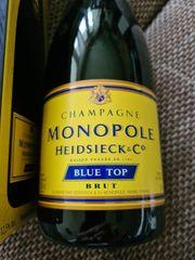 Champagner Monopole Blue top